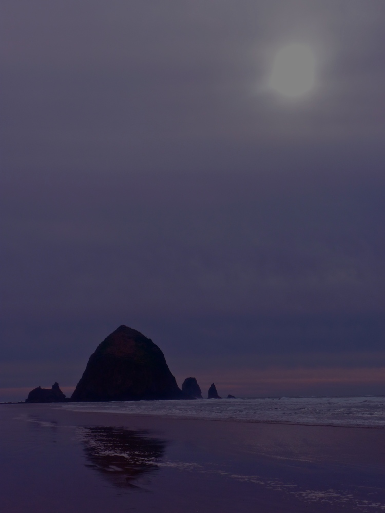 Cannon Beach purple haze.