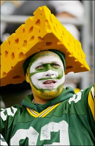 Green Bay Packers cheese head