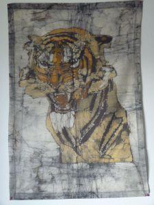 tiger batik