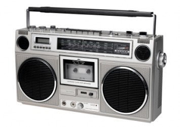 Sundays, I never left home without my boombox.