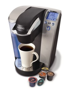 Our fancy new Keurig. Ain't she a beaut?