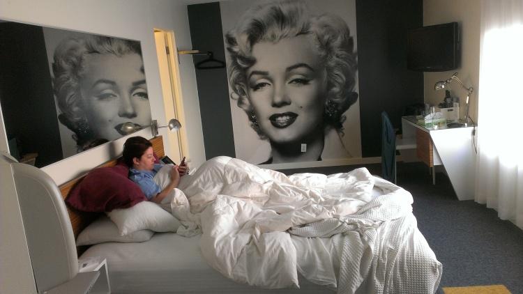 Marilyn Monroe, Jupiter Hotel