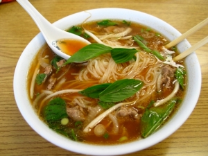 Mmm. I'm a pho for you!