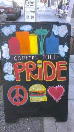 Capitol Hill is the epicenter of Seattle's gay community.