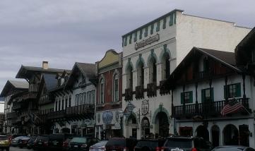 Downtown Leavenworth.