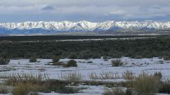 Ruby Mountains from Butte Valley.