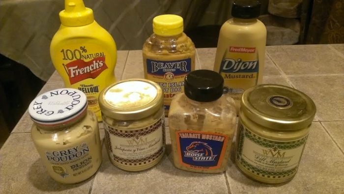 I might have a slight mustard addiction...