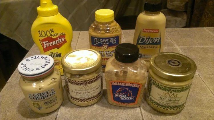 I might have a slight mustard addiction...