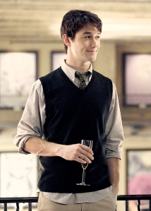 Way to rock the sweater vest, JGL!