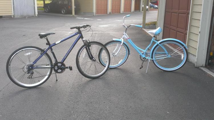 Our new bikes.