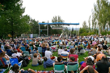 Great venue for a summer evening concert! (Courtesy of edgefieldconcerts.com)