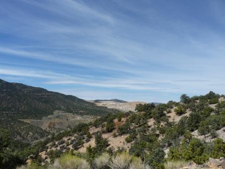 The drive to Squaw Peak.