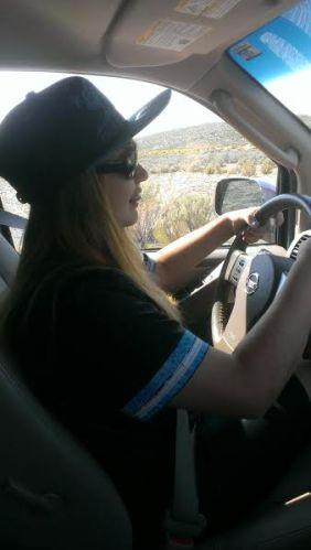 Audrey got driving lessons.
