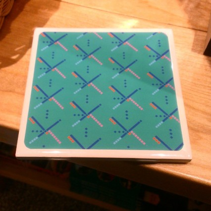 PDX carpet, coasters