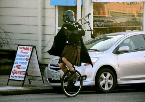 Darth-Vader-Playing-The-Bagpipes-While-Riding-A-Unicycle