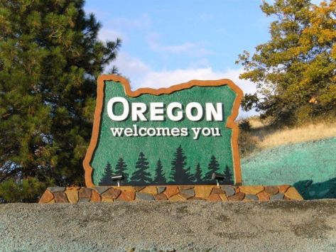 Oregon Sign