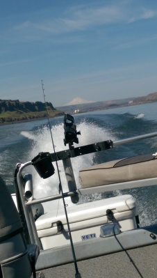 Fishing the Columbia River.