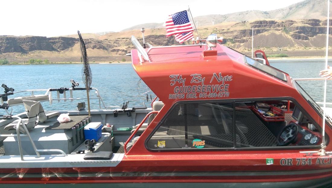 Our guide's boat was pretty slick!