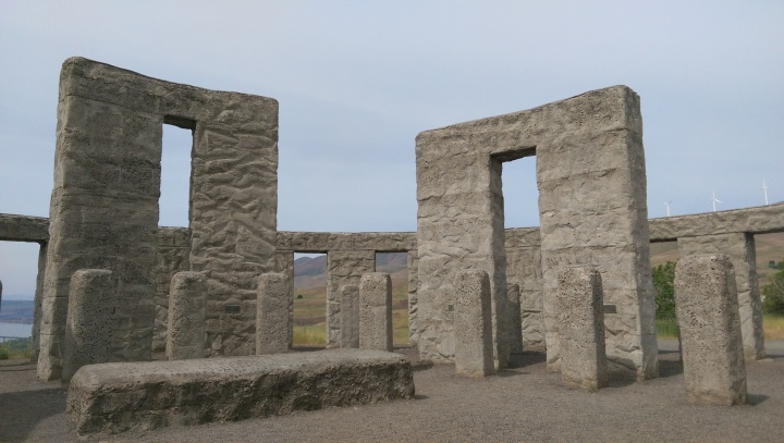Stonehenge in the Columbia Gorge.