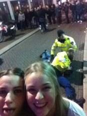 paramedic selfie