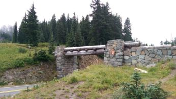 Entrance to Mount Rainier National Park.
