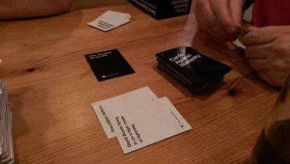 Cards Against Humanity: not for the faint of heart.