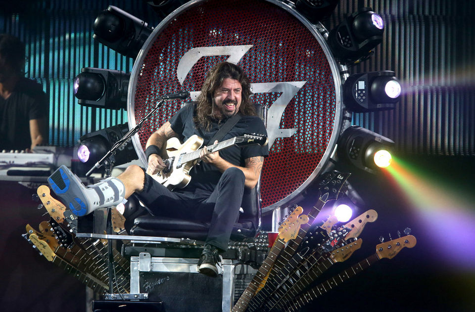 Well, he IS rock royalty. (Image courtesy of nj.com).