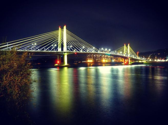 Portland's newest bridge.