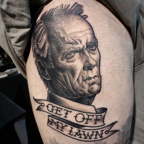 lawn tattoo