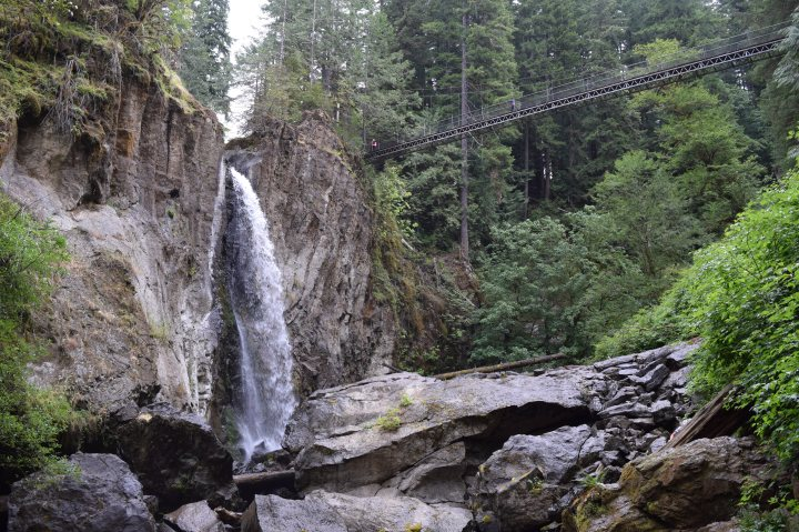 Drift Creek Falls.