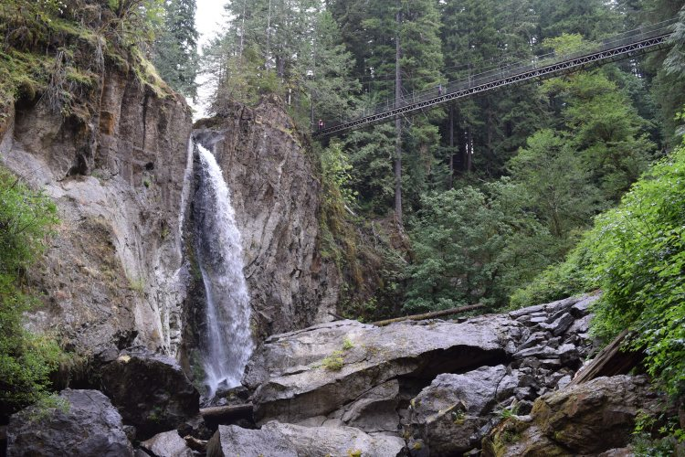 Drift Creek Falls.