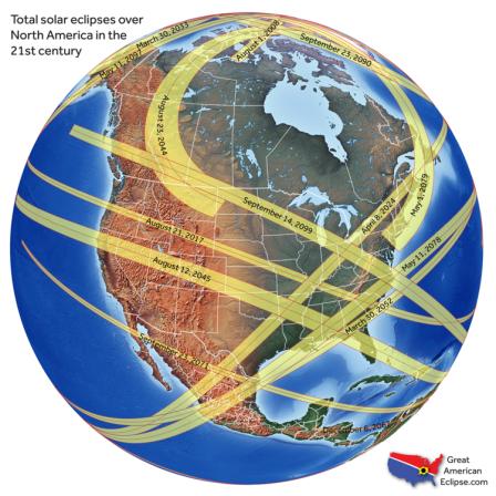 21stCenturyNorthAmericanEclipses